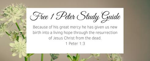 1 peter study